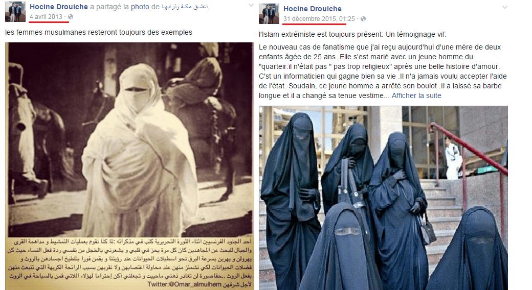 Hocine Drouich et la femme musulmane