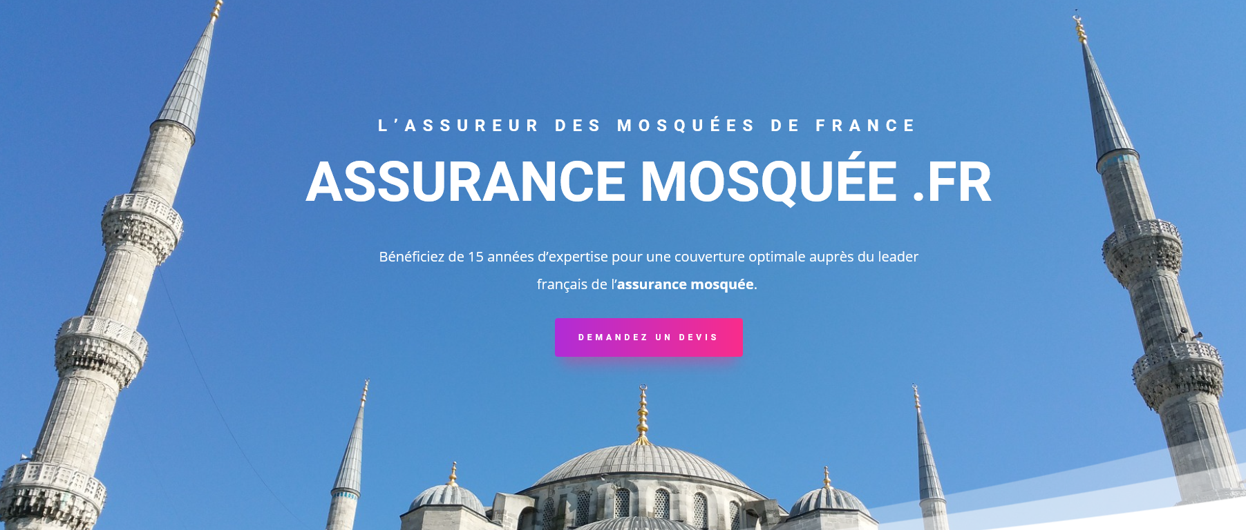 Assurance mosquees