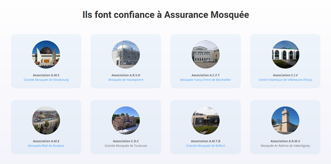 Mosquees assurance