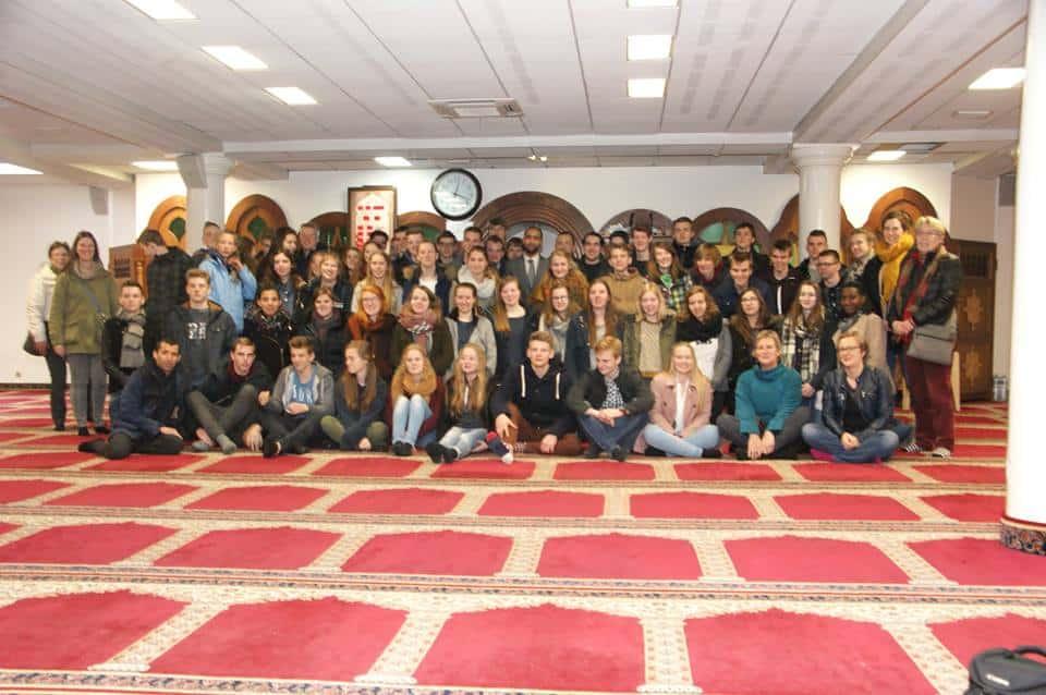 60 lycéens belges ont visité la grande mosquée de Lille 1