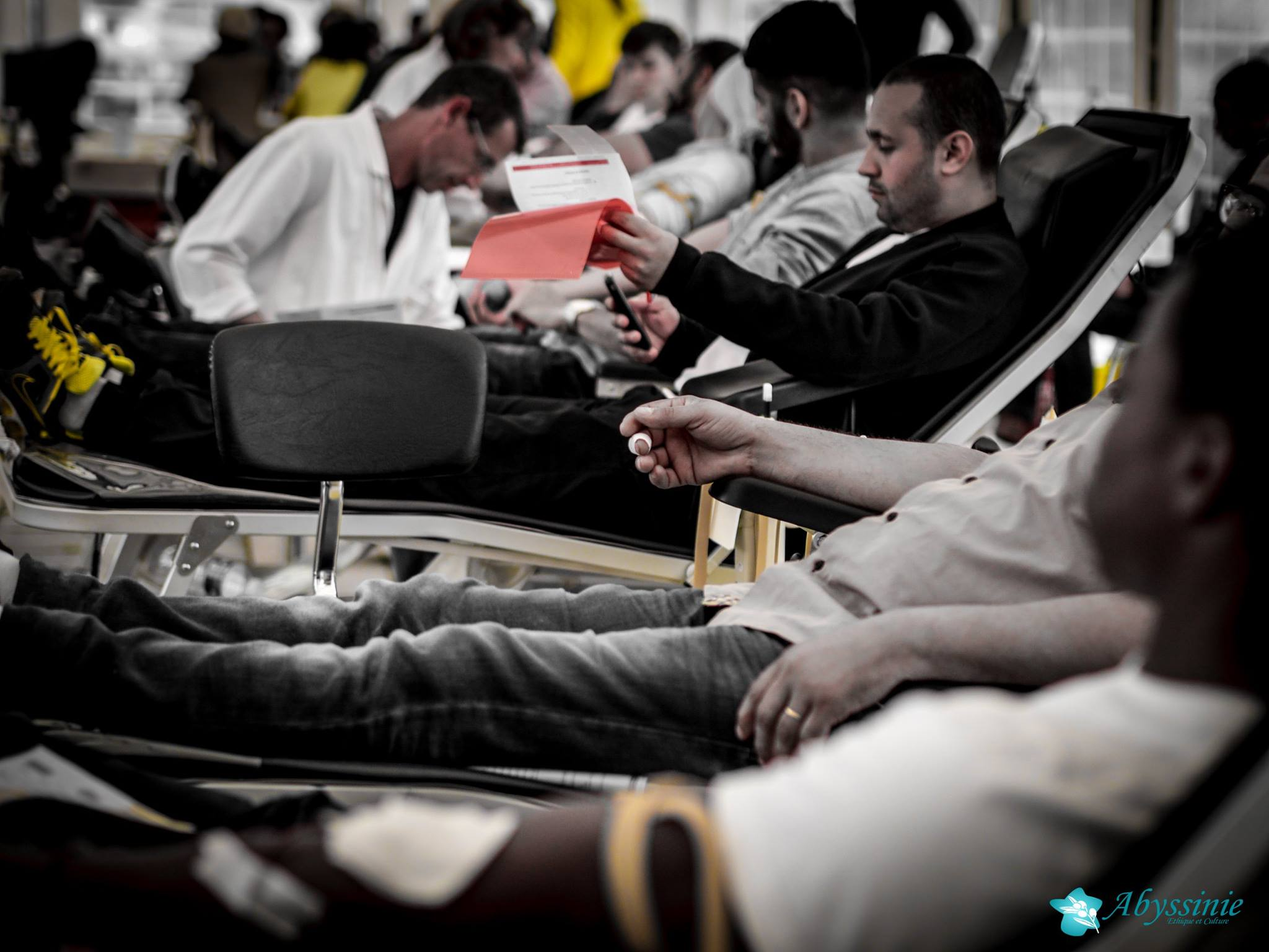 Don du sang à la grande mosquée de Strasbourg 11