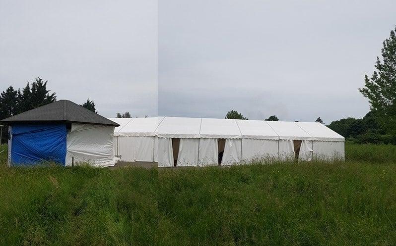 Un chapiteau pour les musulmans de Lagny-sur-Marne