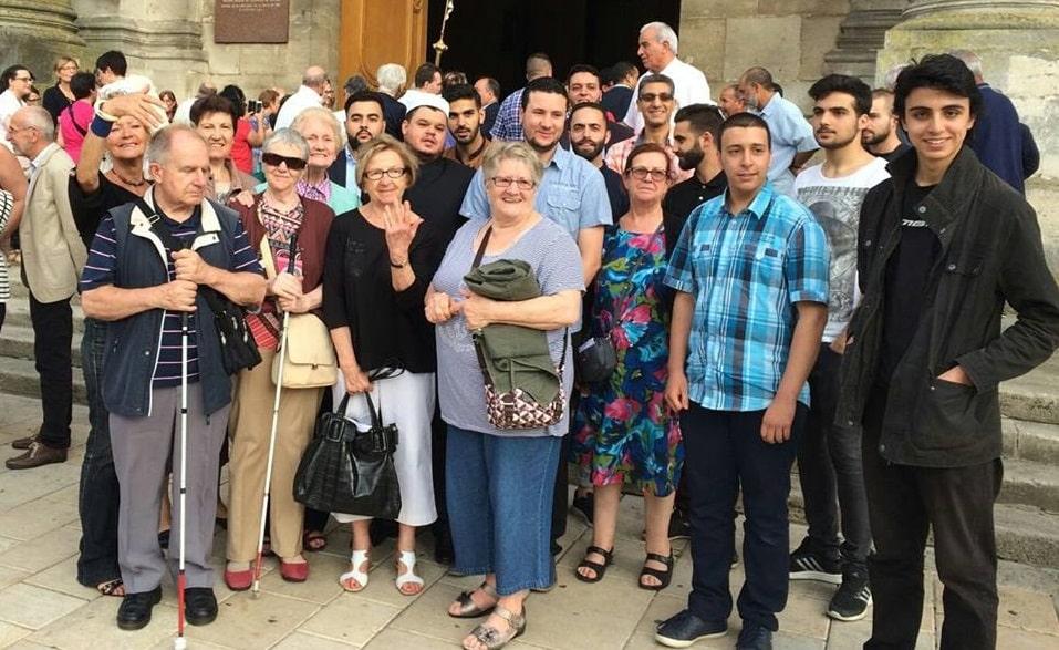 Musulmans à la Cathédrale de Nancy