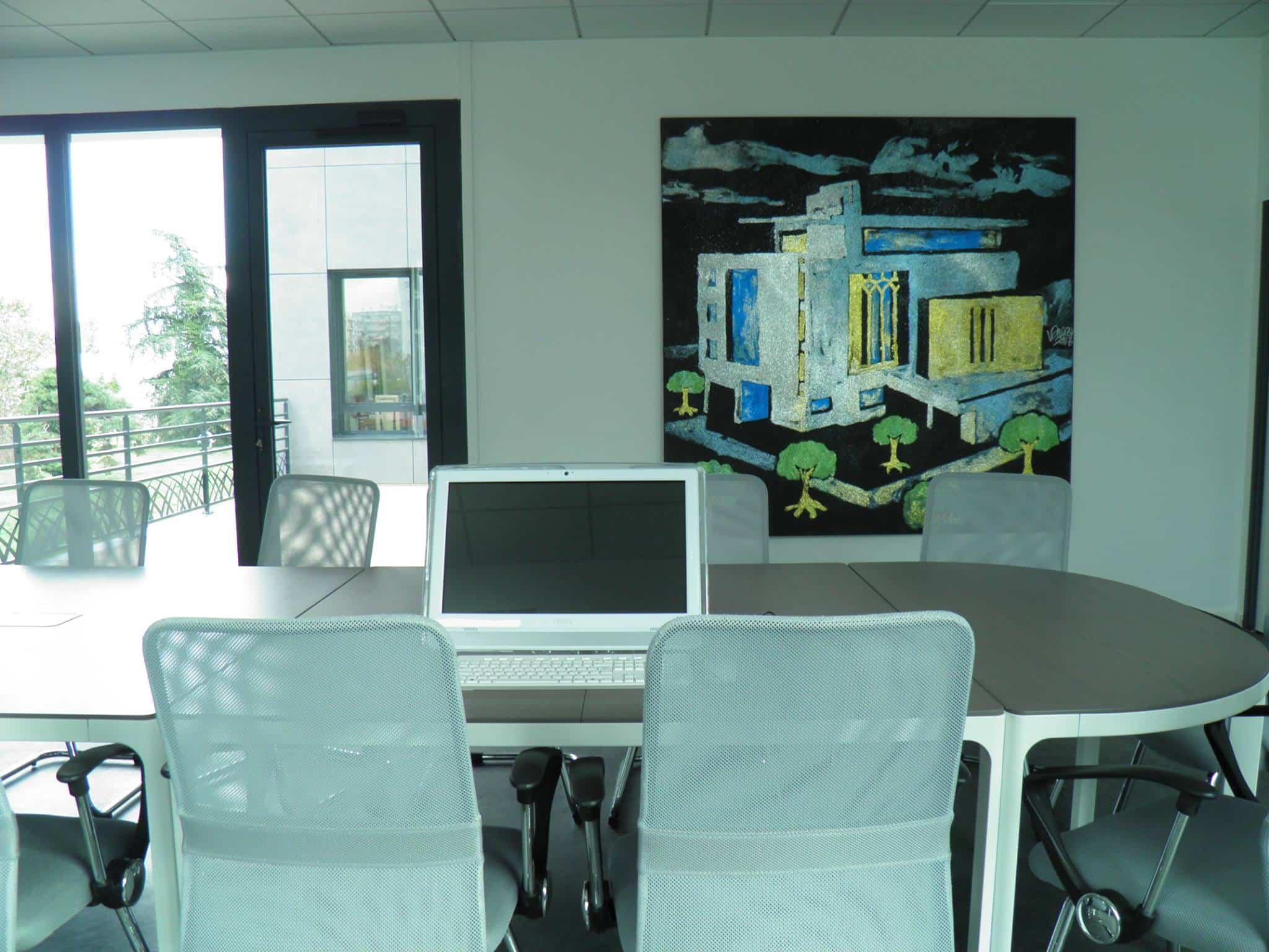 Le CID comprend une salle de conférence