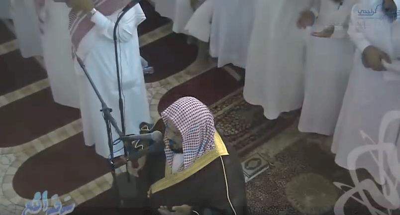 Arrestation du récitateur Muhammad al-Muhaysini
