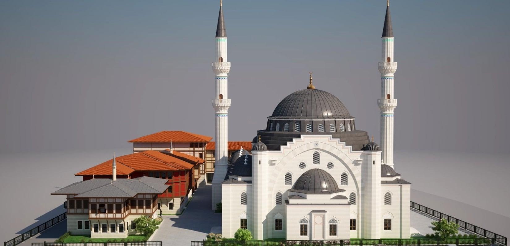 Mosquee Eyyub Sultan de Strasbourg