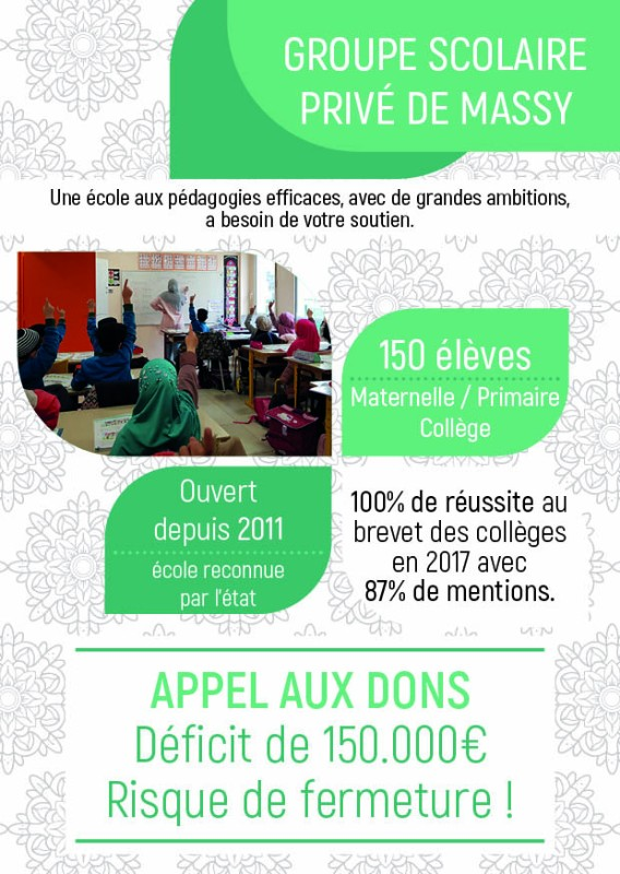 Groupe scolaire musulman Massy