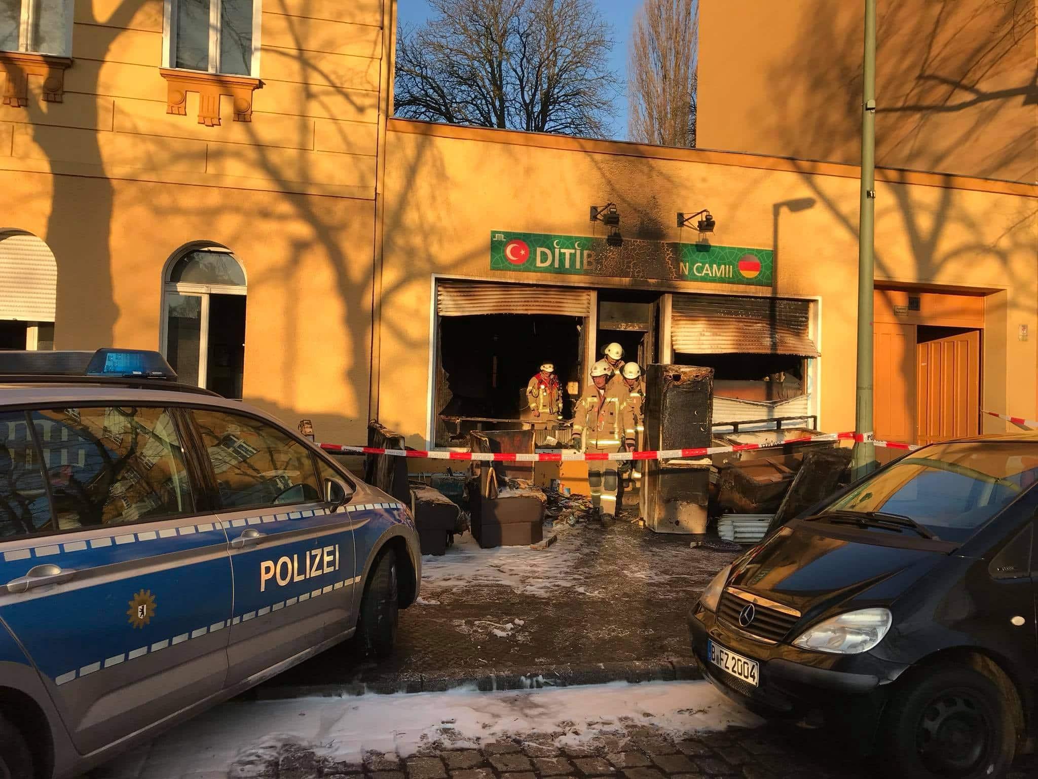 Mosquee de Berlin attaquee 4