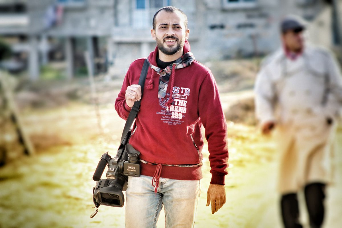 Ahmed Abu Hussein journaliste assassiné par Israel à Gaza