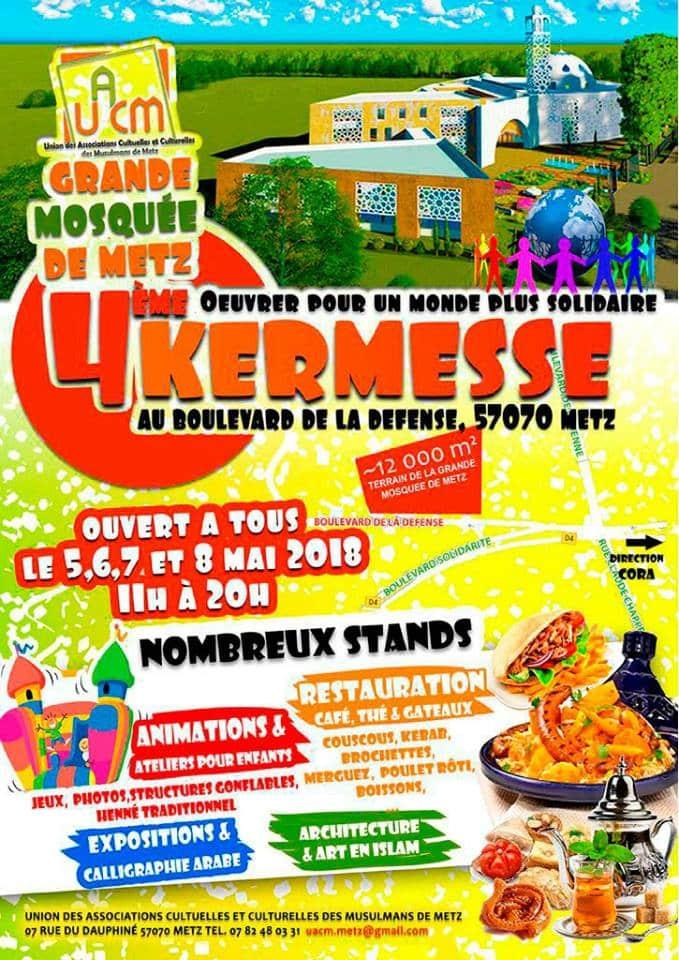 Kermesse Grande Mosquée de Metz 2018