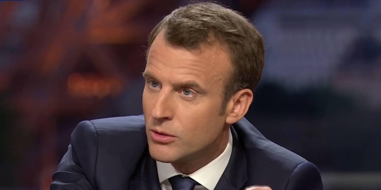 Macron voile