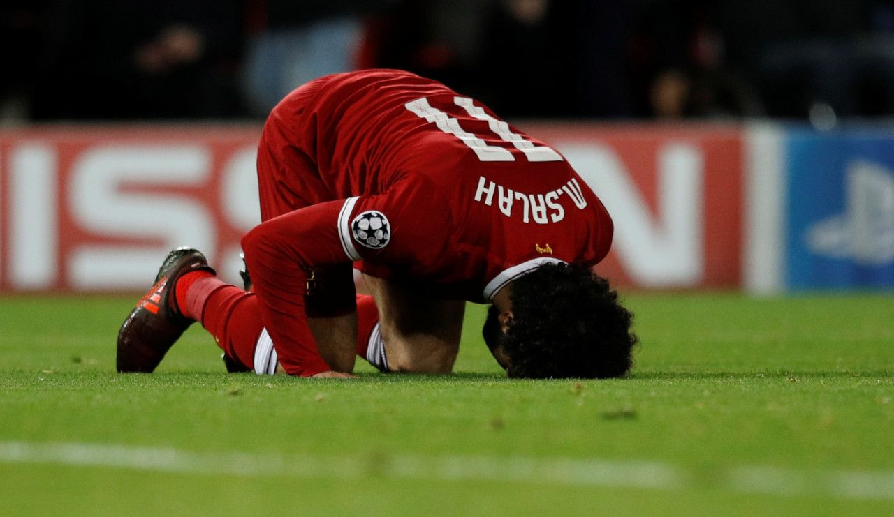 Mohamed Salah le joueur qui fait aimer l'Islam à Liverpool
