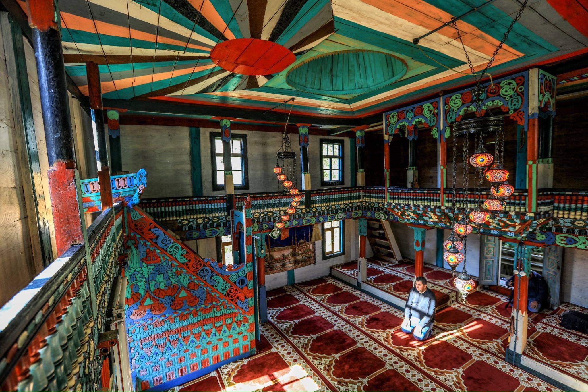 Mosquée en bois Turquie