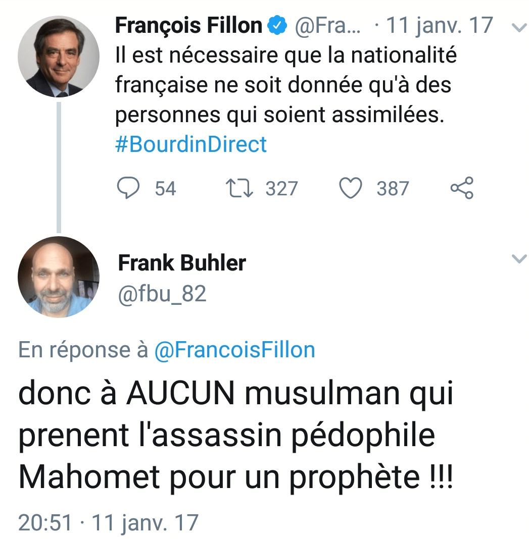 Frank Buhler islamophobe 1