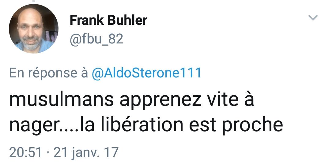 Frank Buhler islamophobe 4
