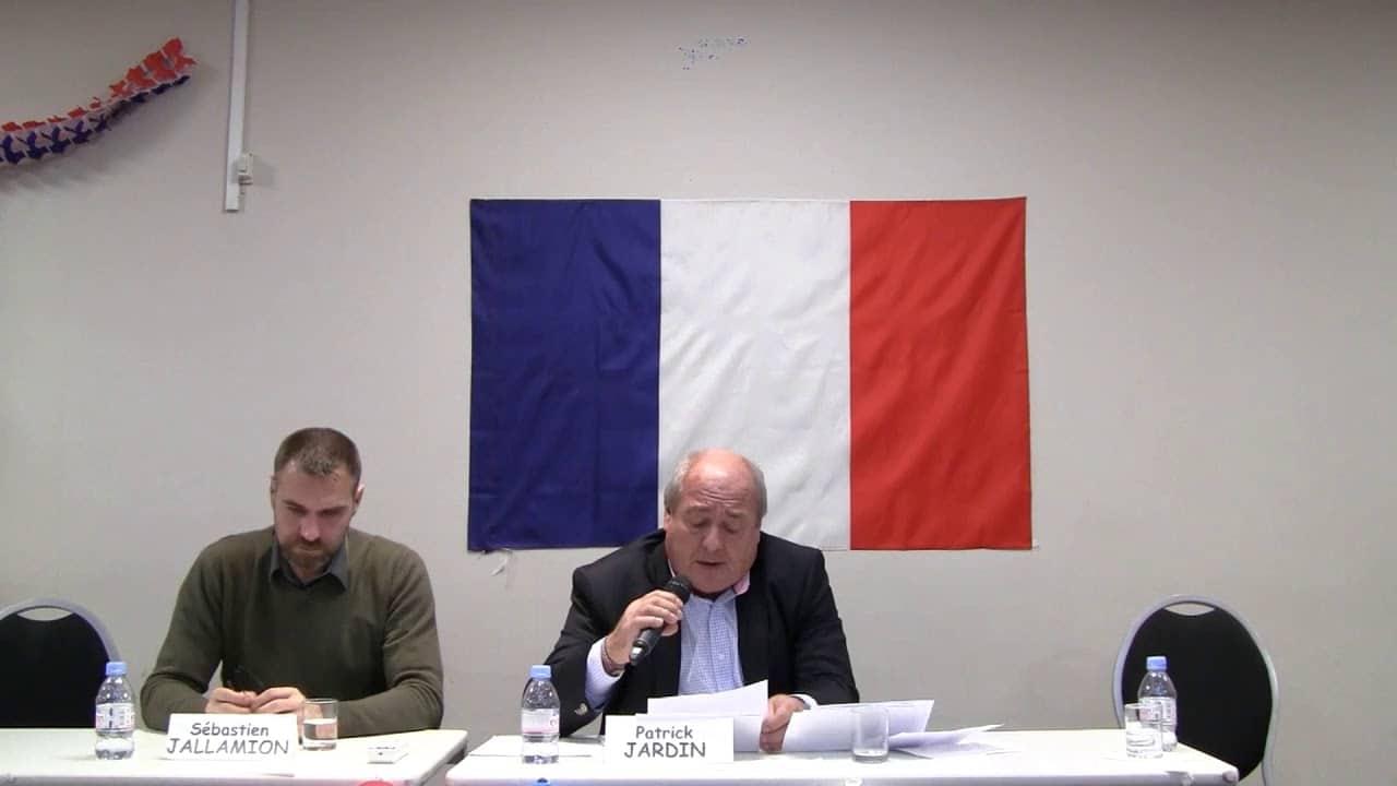 Patrick Jardin Apologie du terrorisme