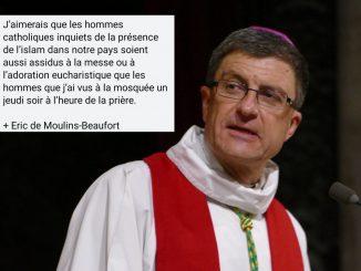 La réponse cinglante de l'archevêque de Reims à ceux qui ont critiqué sa présence dans une mosquée