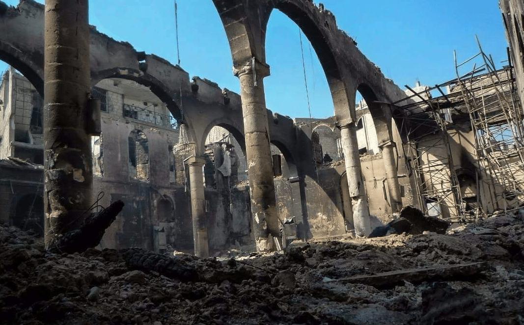 Grande mosquée de Arbin Syrie