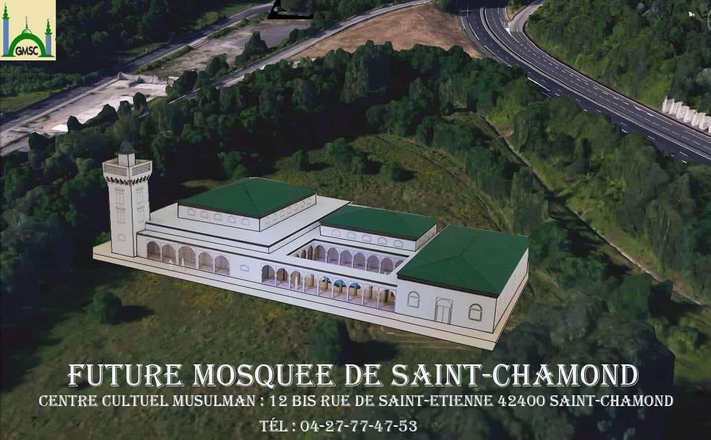 grande mosquee de Saint-Chamond