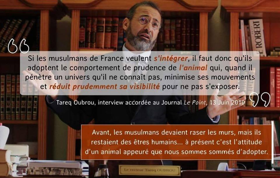 Tareq Oubrou mosquée Rouen