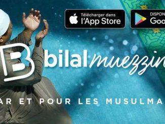 Bilal Muezzin application par et pour les musulmans