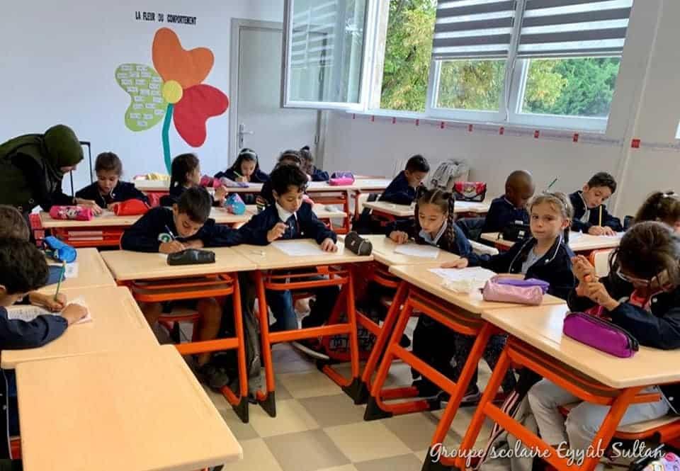 rentrée école élémentaire Eyyub Sultan Strasbourg