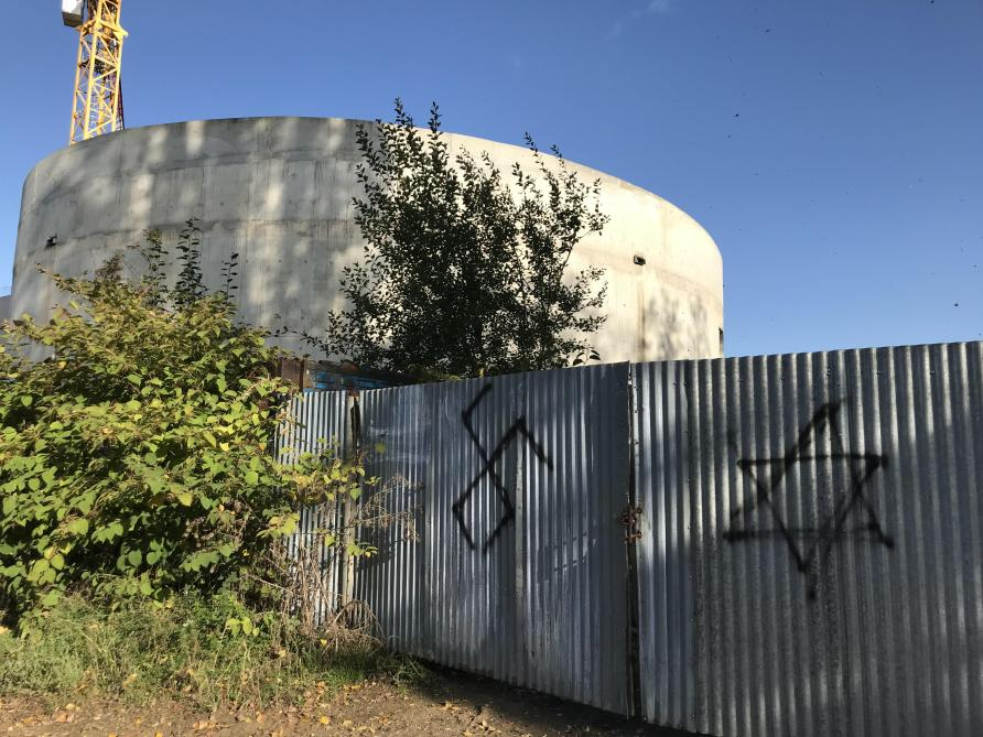 Tags nazis sur la future mosquée de Charleville-Mézières