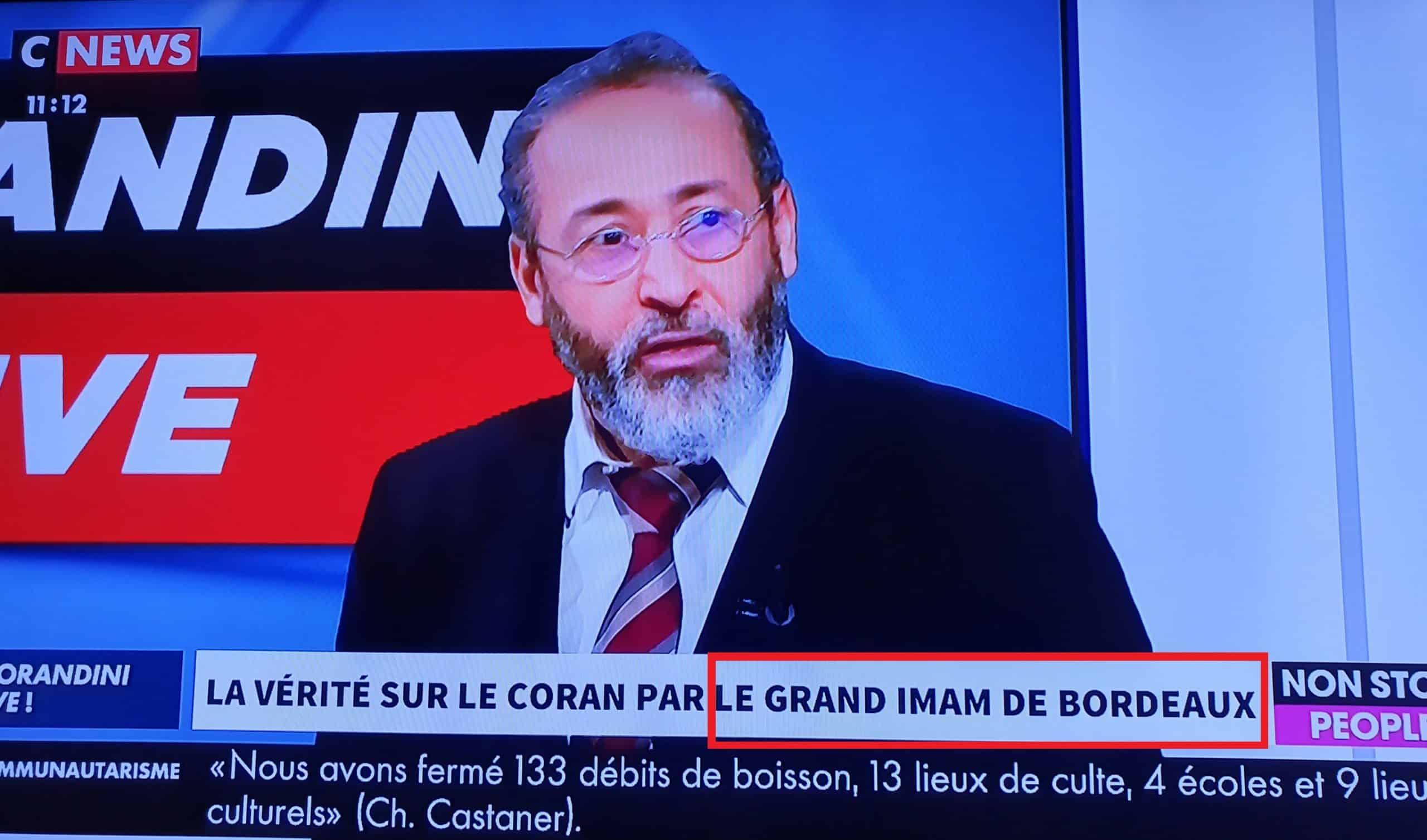 Tareq Oubrou grand imam de Bordeaux