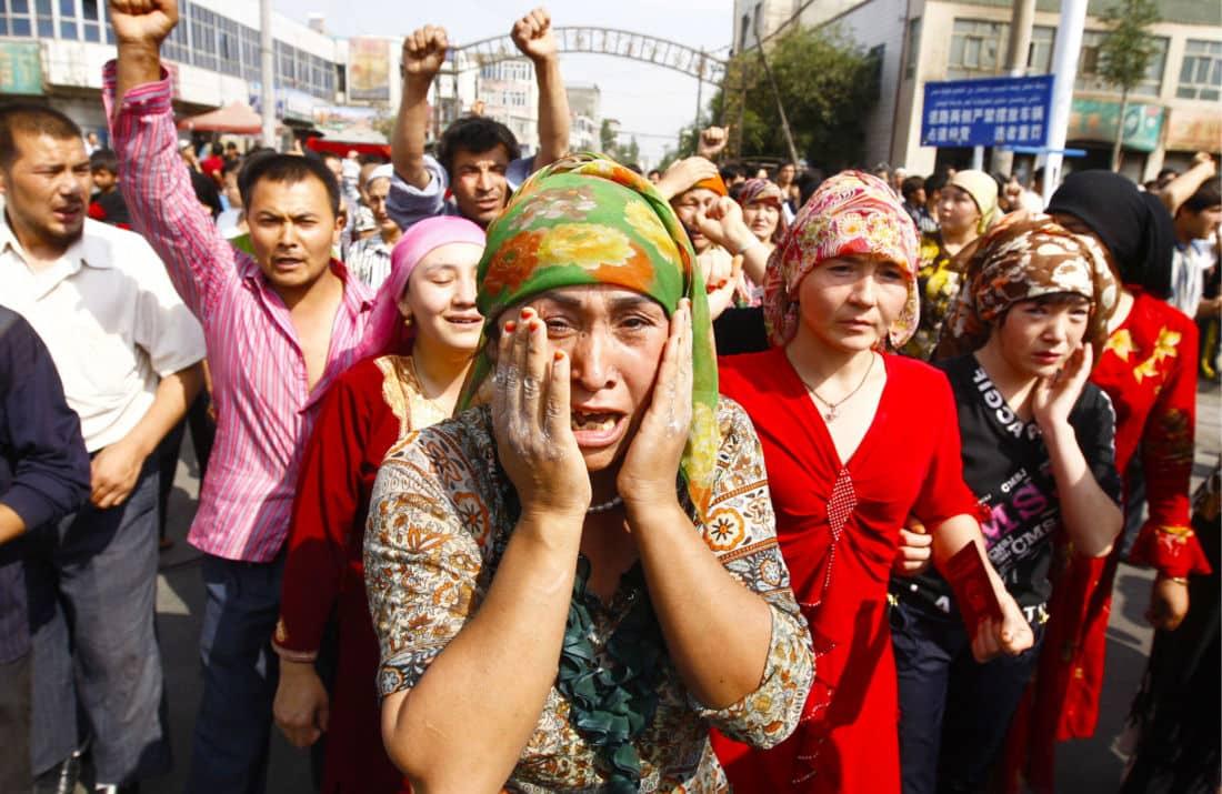 Viols camps de concentration Chine