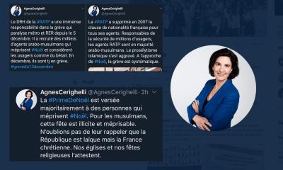 Agnes Cerighelli islamophobie