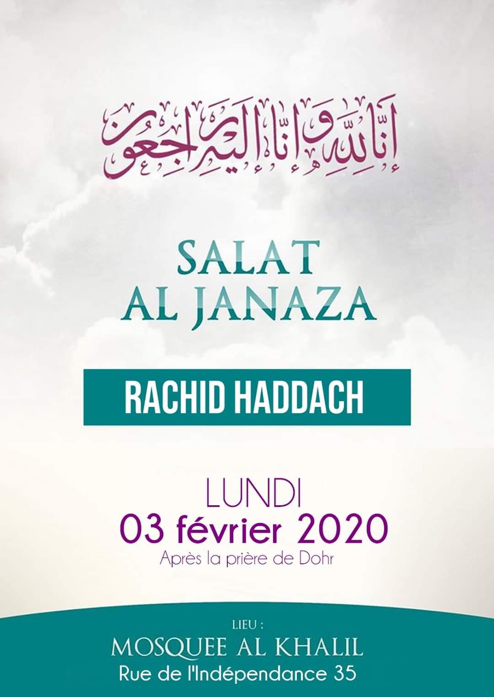 Janaza Rachid Haddach