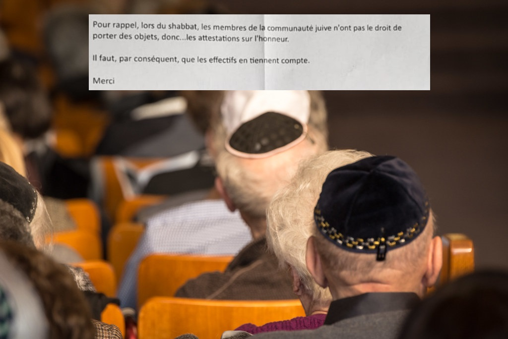 Coronavirus : les juifs observant le Shabbat autorisés à sortir sans attestation ?