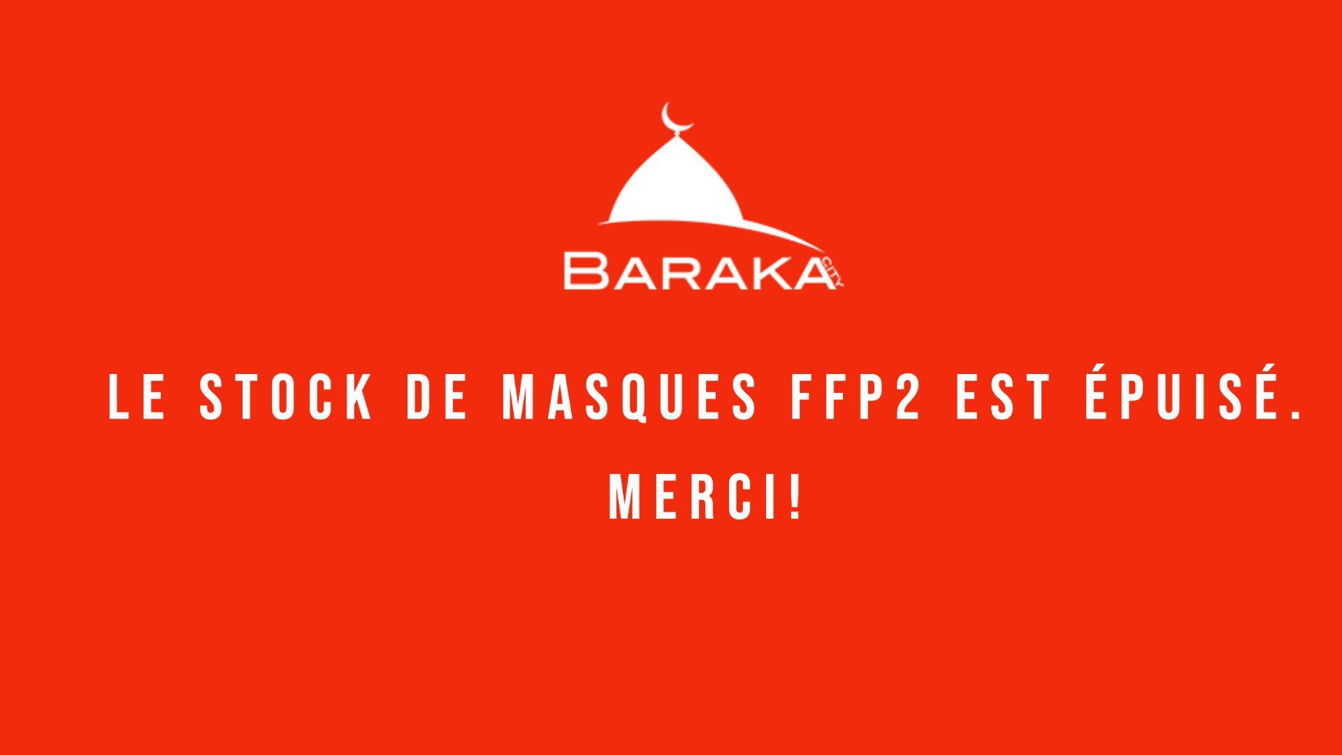 Masques FFP2 offerts par Barakacity à des Hôpitaux Coronavirus