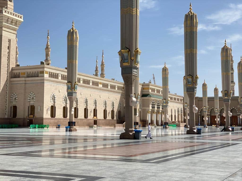 Coronavirus: La mosquée du prophète Mohammed fermée pour la première fois après 1 400 ans