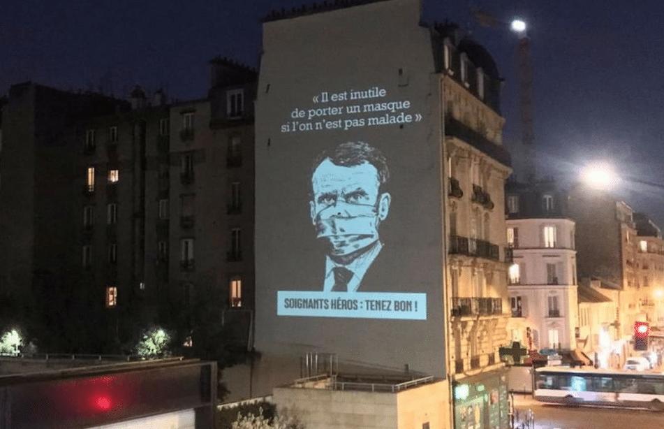 Macron coronavirus