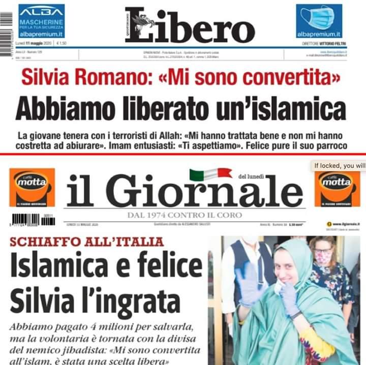 Silvia Romano islamophobia