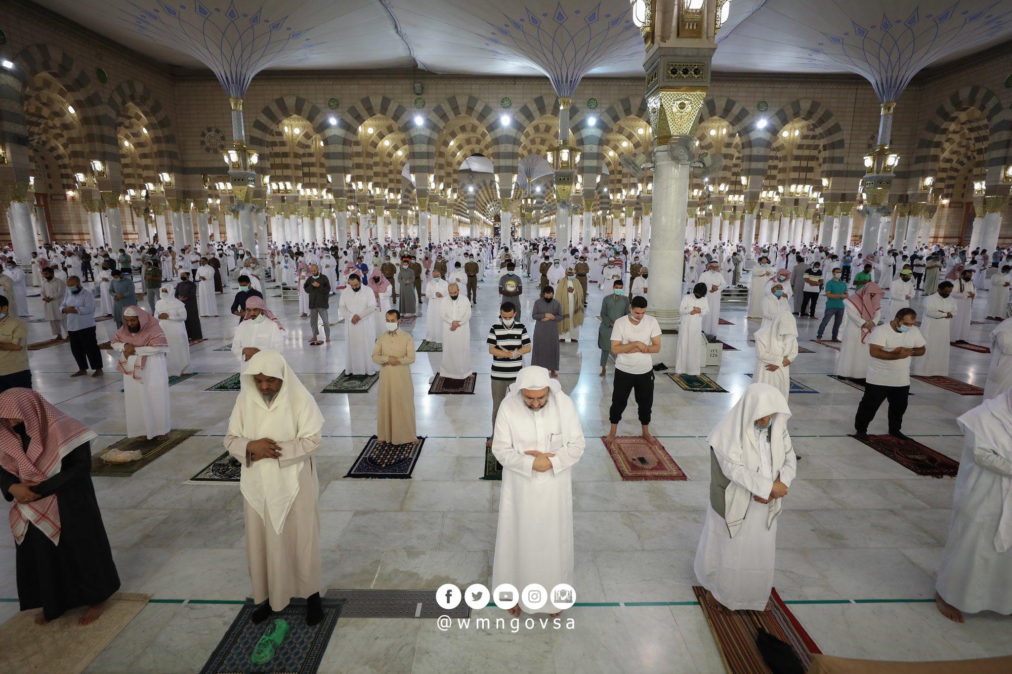Reouverture mosquee Medine coronovirus