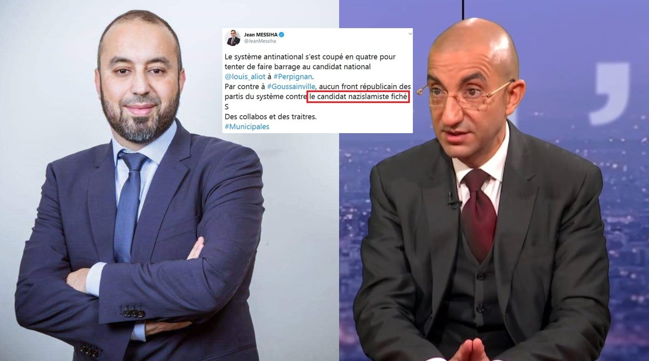 Maire Goussainville insulté Jean Messiha