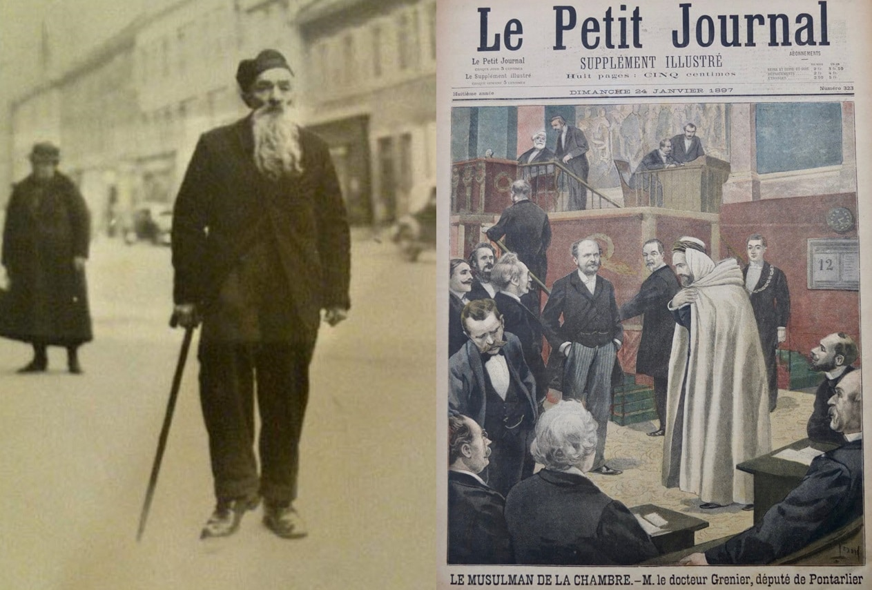 Philippe Grenier, premier député musulman de l'histoire de France   Des Dômes & Des Minarets