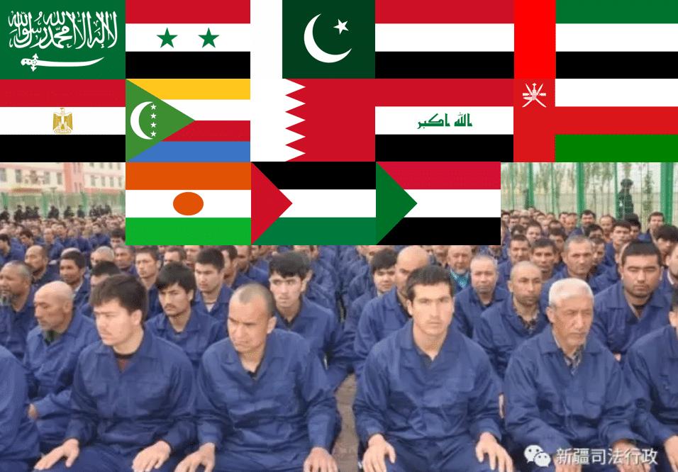 Pays musulmans soutien Chine