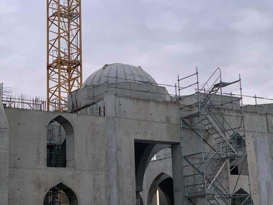 Dôme mosquée Eyyub Sultan Strasbourg
