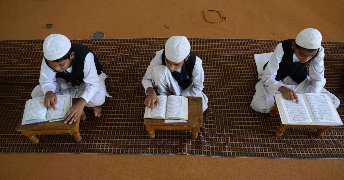 Inde Assam ferme madrassa