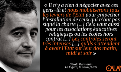 Darmanin charte imams