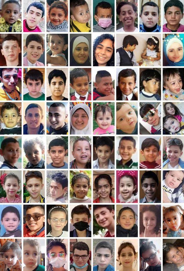 Enfants tues Gaza