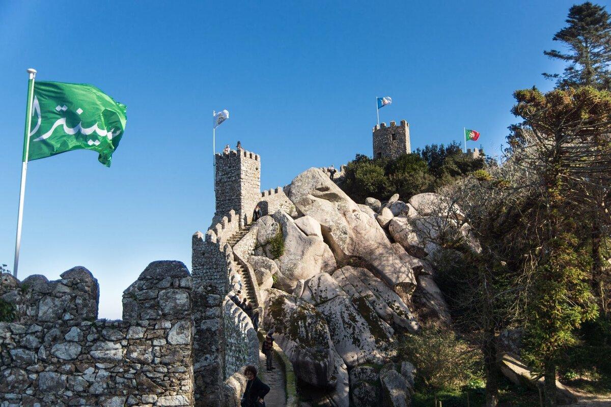 Chateau des Maures Sintra Portugal